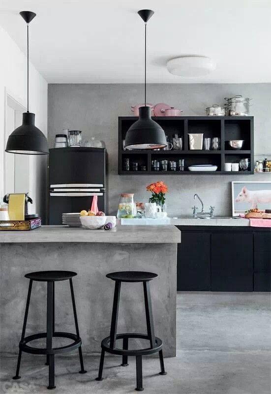 Inspirasjon: kjøkken   agnieszka buchta   interiørdesign