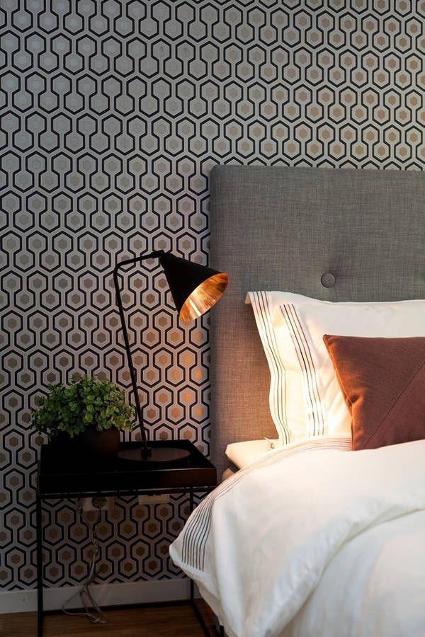 tapeta w sypialni agnieszka buchta architektura wn trz