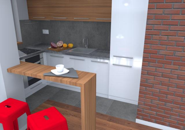 Gliwice / kuchnia i przedpokój / 10m2